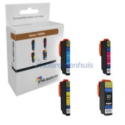 Inksave Epson 26XL T2636 Multipack Inkt